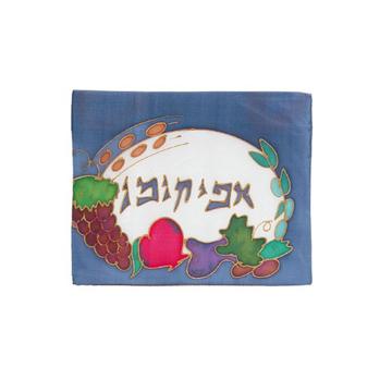 תמונה של כיסוי אפיקומן - ציור יד על משי - AFY-6 | יאיר עמנואל