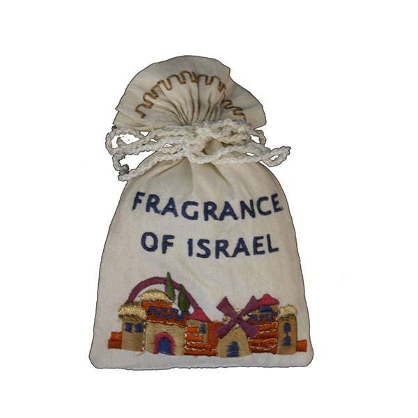 תמונה של בשמים בשקית רקומה - ירושלים - BBE-1 | יאיר עמנואל