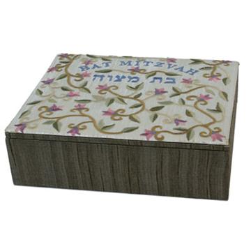 תמונה של קופסא רקומה קטנה - בת מצווה - BES-2 | יאיר עמנואל
