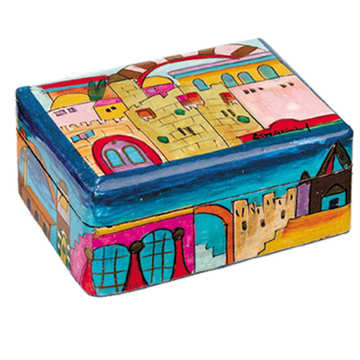 תמונה של קופסת תכשיטים קטנה - ירושלים - BS-1   יאיר עמנואל