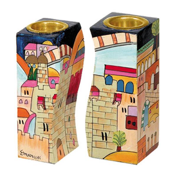 Picture of פמוטים מתחברים - ירושלים צבעוני - CS-1 | יאיר עמנואל