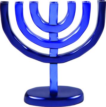 תמונה של מנורה 7 קנים - כחול - HMC-2 | יאיר עמנואל