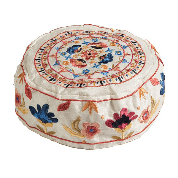 Picture of כובע רקמה - פרחים מלא - HME-3W | יאיר עמנואל