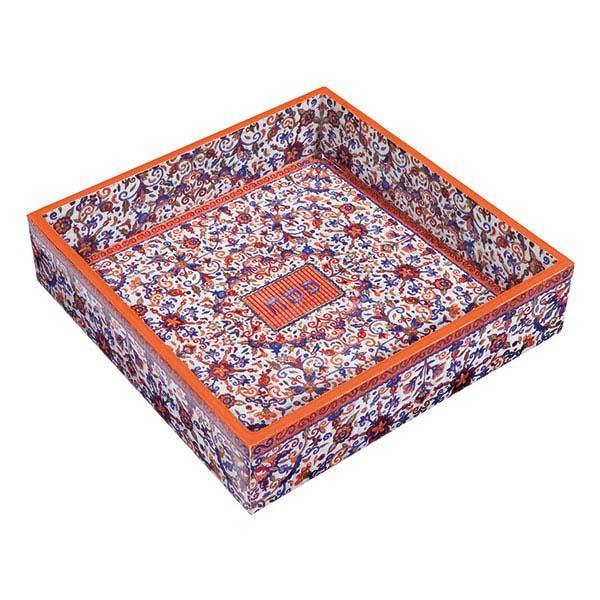 Picture of קופסה למצה - עץ מודפס - צבעוני - MAW-3   יאיר עמנואל