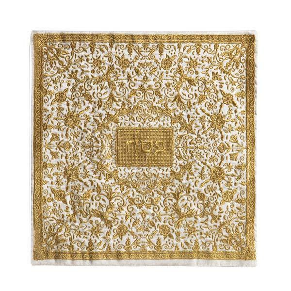 Picture of כיסוי מצה - רקמה מלאה - זהב - MMC-5 | יאיר עמנואל