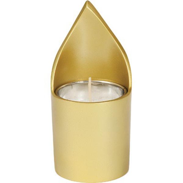 תמונה של מתקן לנר נשמה + נר - זהב - NNM-2 | יאיר עמנואל