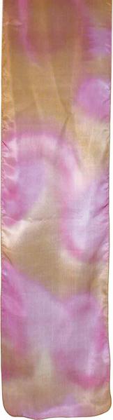 תמונה של צעיף - ציור על משי - דבש - PSA-5   יאיר עמנואל