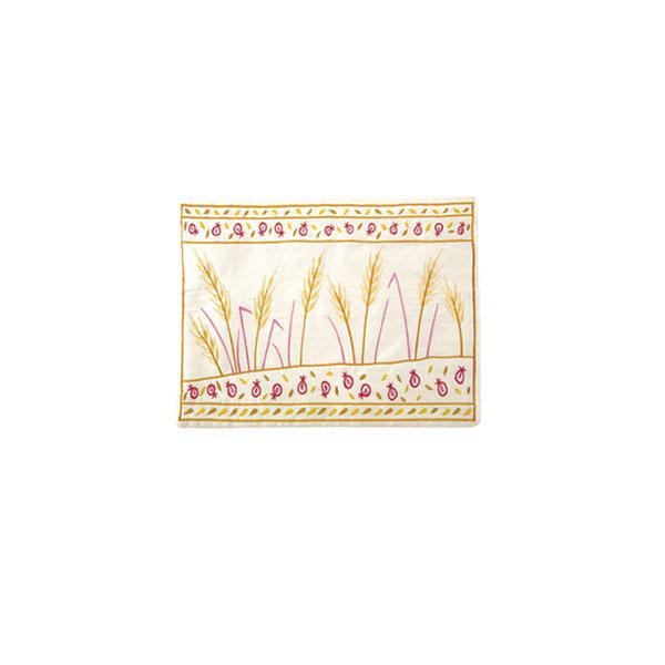 Picture of תיק תפילין - רקמת מכונה - שבולים - TFC-10 | יאיר עמנואל